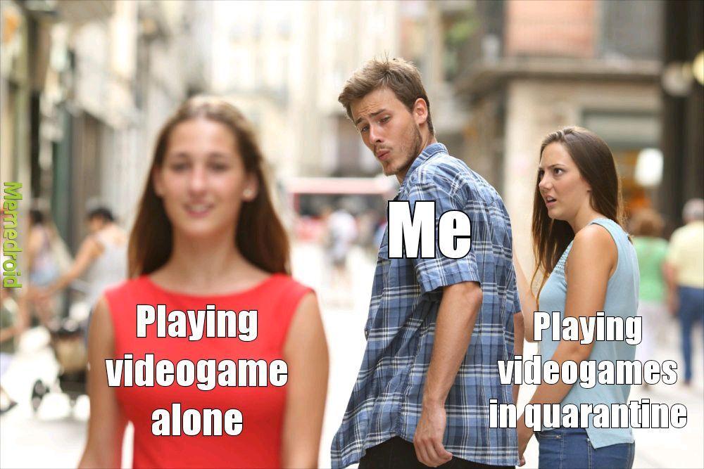 Gamers now - meme