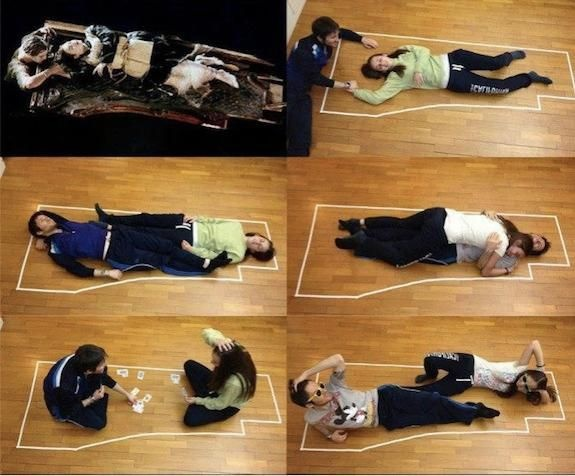 Following is the image shows of how Jack could have survived on plank with rose. - meme
