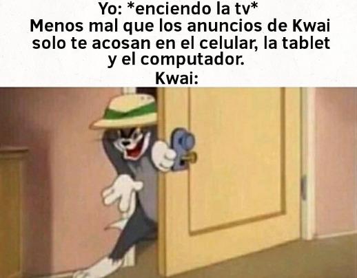 Ptm el otro día salió un anuncio de Kwai en la tele - meme
