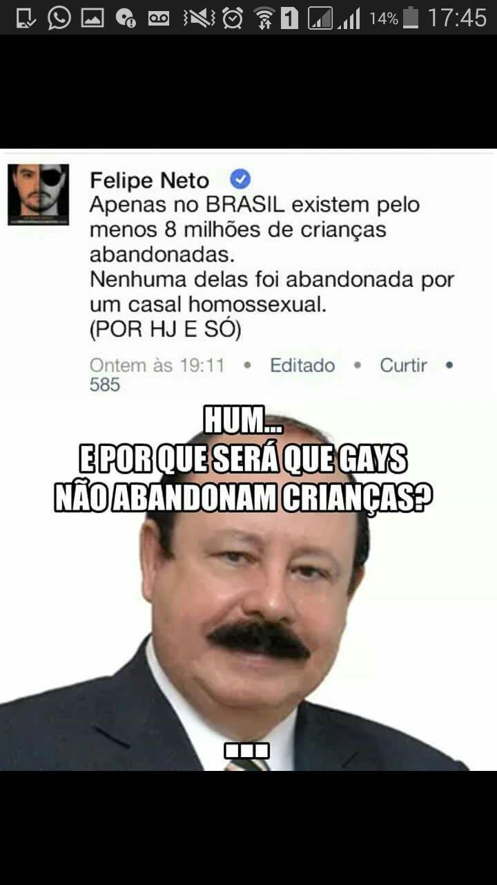 Hu3hu3hu3 (n sou homofóbico) - meme
