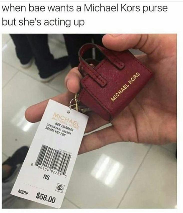 $58.99 for a keychain tho... - meme