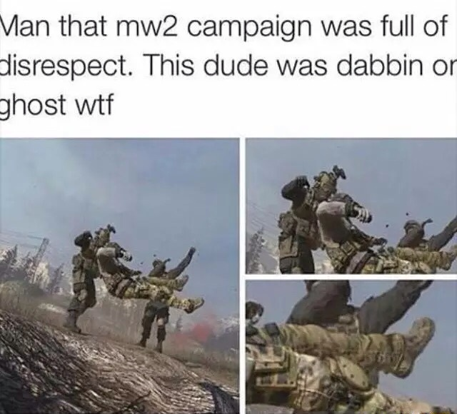 My favorite campaign on CoD - meme