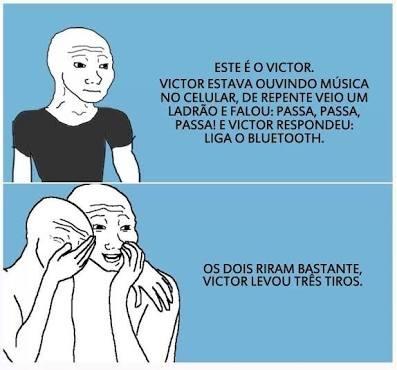 Porra Victor - meme