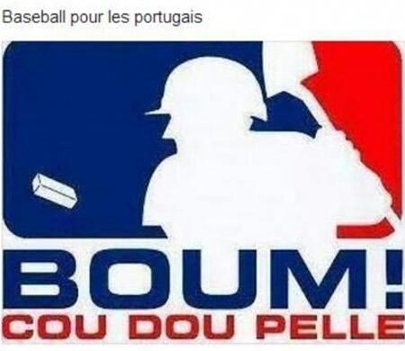 Lé baseball porc tout gai - meme