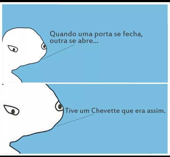 A minha brasilia tbm era assim - meme