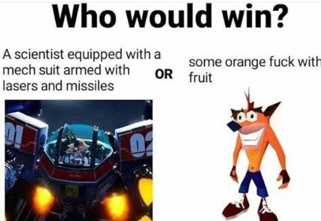 orange bastard - meme