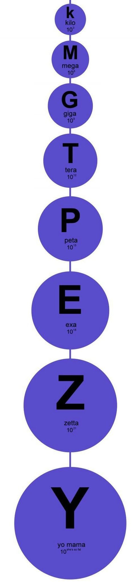 The metric system - meme