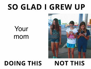 I grew up doing your mom - meme