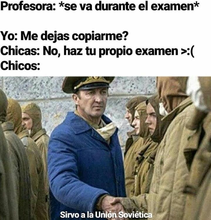 Clásico de la union sovietica - meme