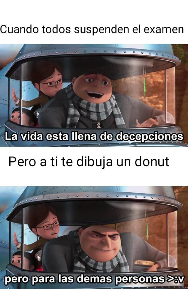 Decepciones - meme