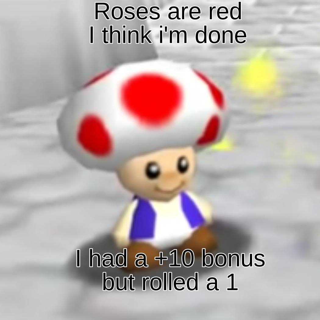 Nerdy D&D Meme