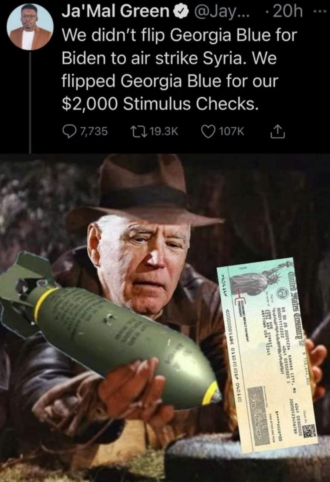 Indiana Bombs - meme