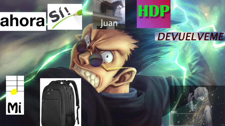Fui al baño y el puyo de juan se llevo mi mochila :darkstare: - meme