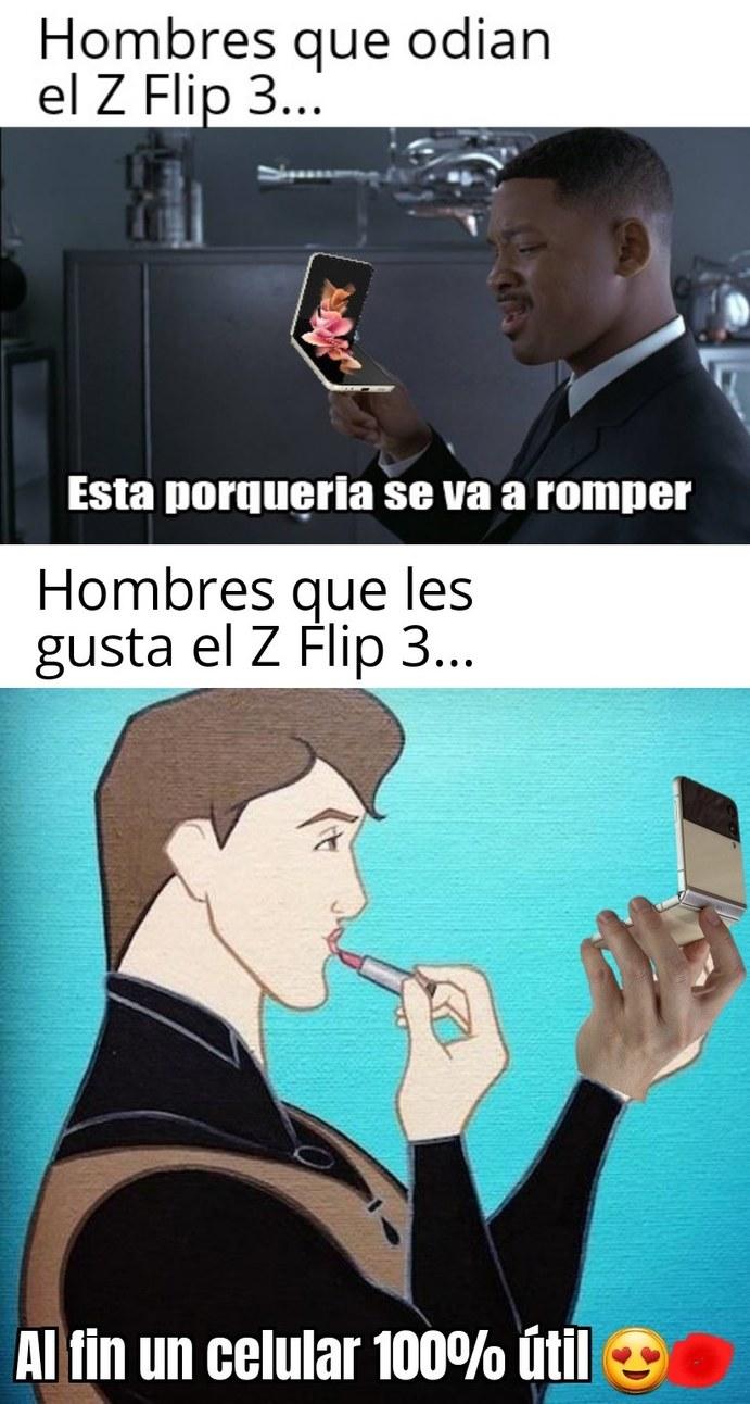 Te gustan los Z Flips? - meme
