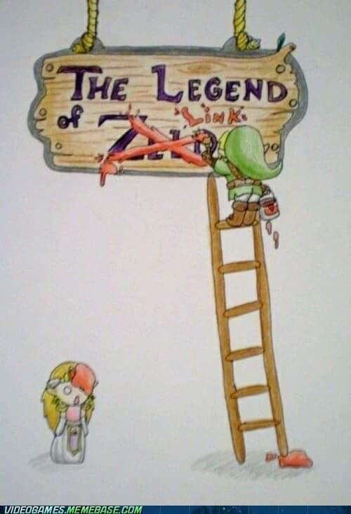 The Legend Of LINK. - meme