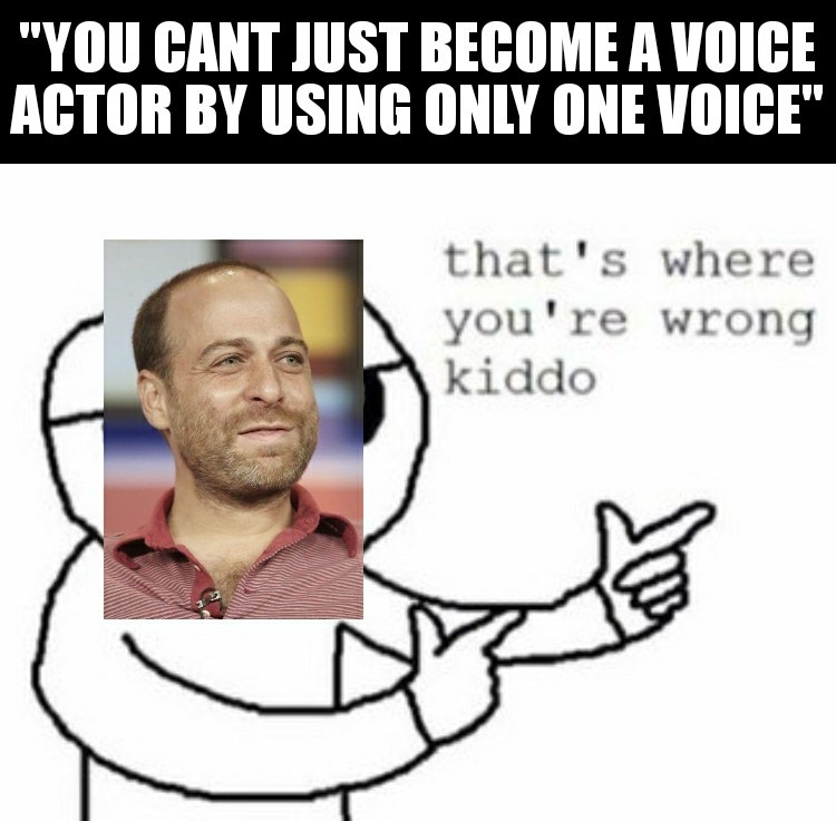 Guy who voiced Archer, Bob from Bob's Burgers, and Carl from Family Guy - meme