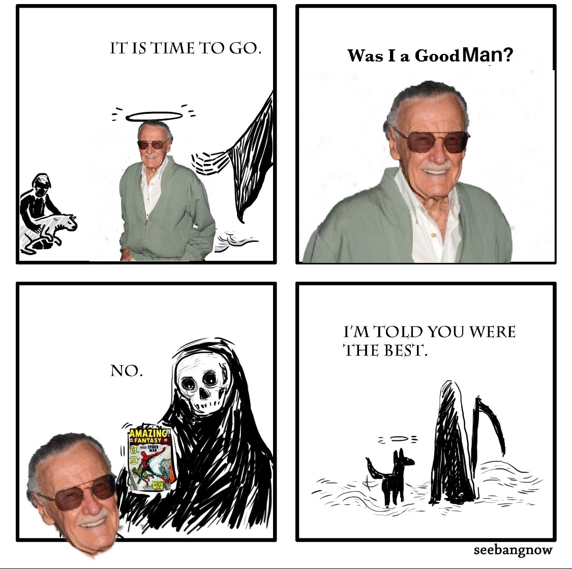 excelsior: onward and upward to greater glory - meme