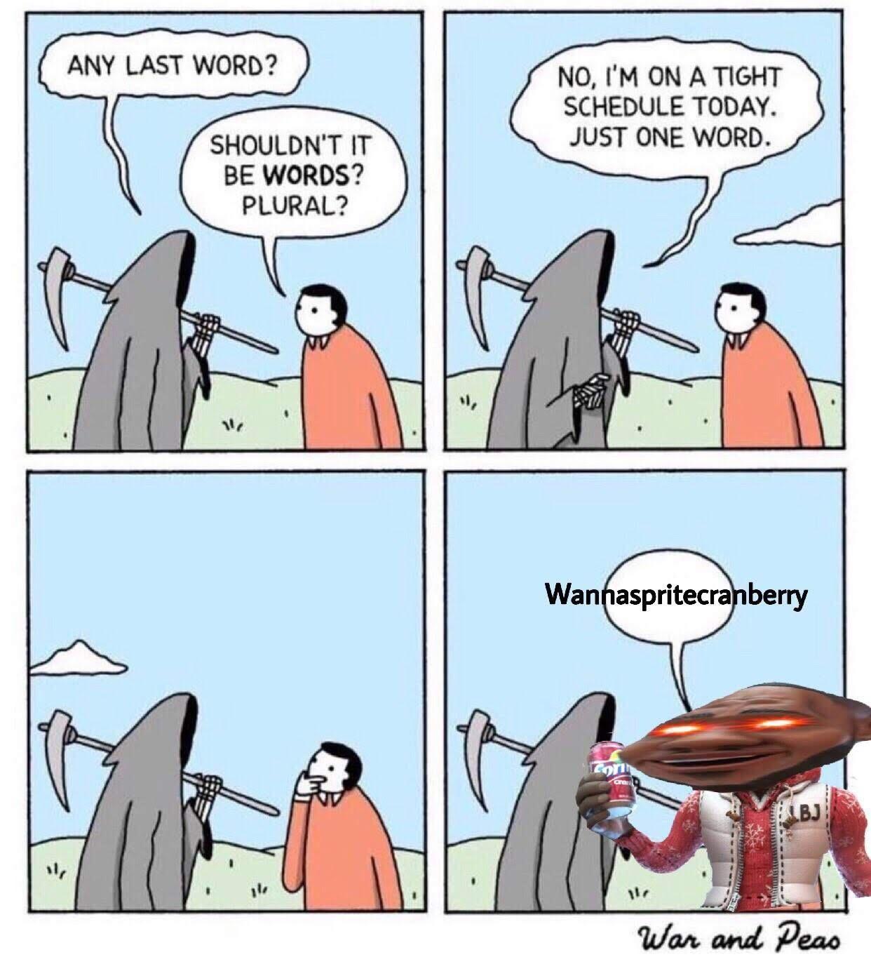 Last word - meme