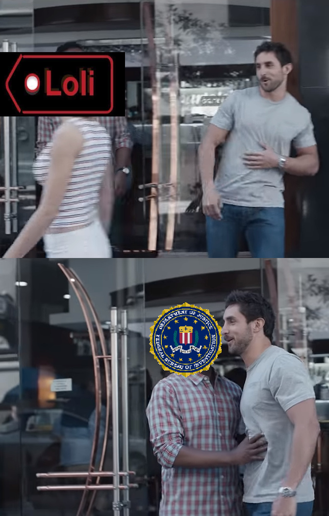 FBI Knows that is not cool - meme