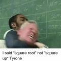 I'm black dude