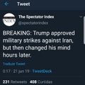 """Iran made a very big mistake"""