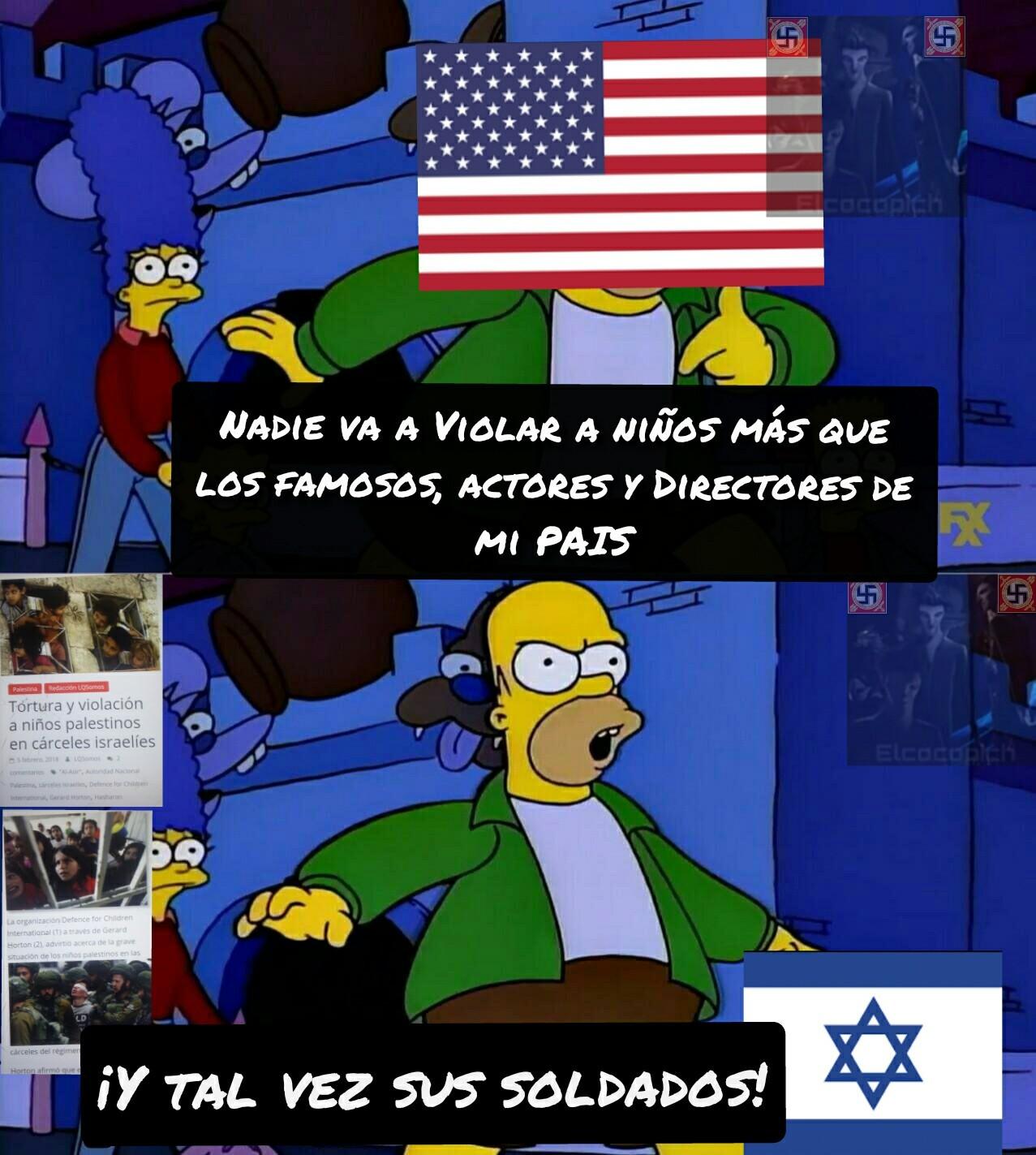 Lo subo, No por que me parezca gracioso (obiamente el meme no da risa, ni la situación) si no para que los pelotuditos que adoran a Israel se carguen en sus muertos