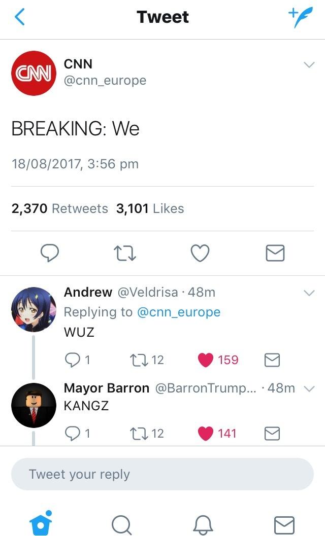 dongs in a tweet - meme