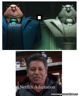 Netflix sí. - meme