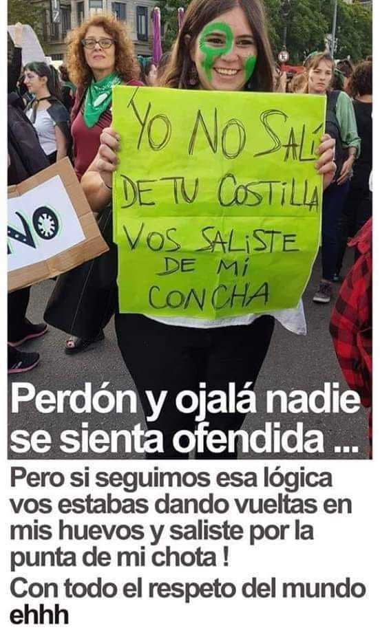 Feminismo en Argentina - meme