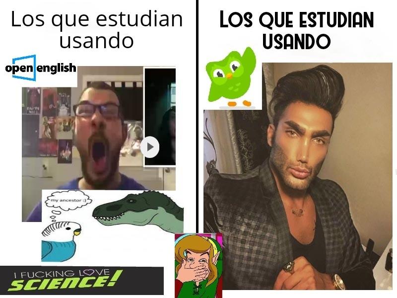 Duolingo=Gigachad (Resubido) - meme