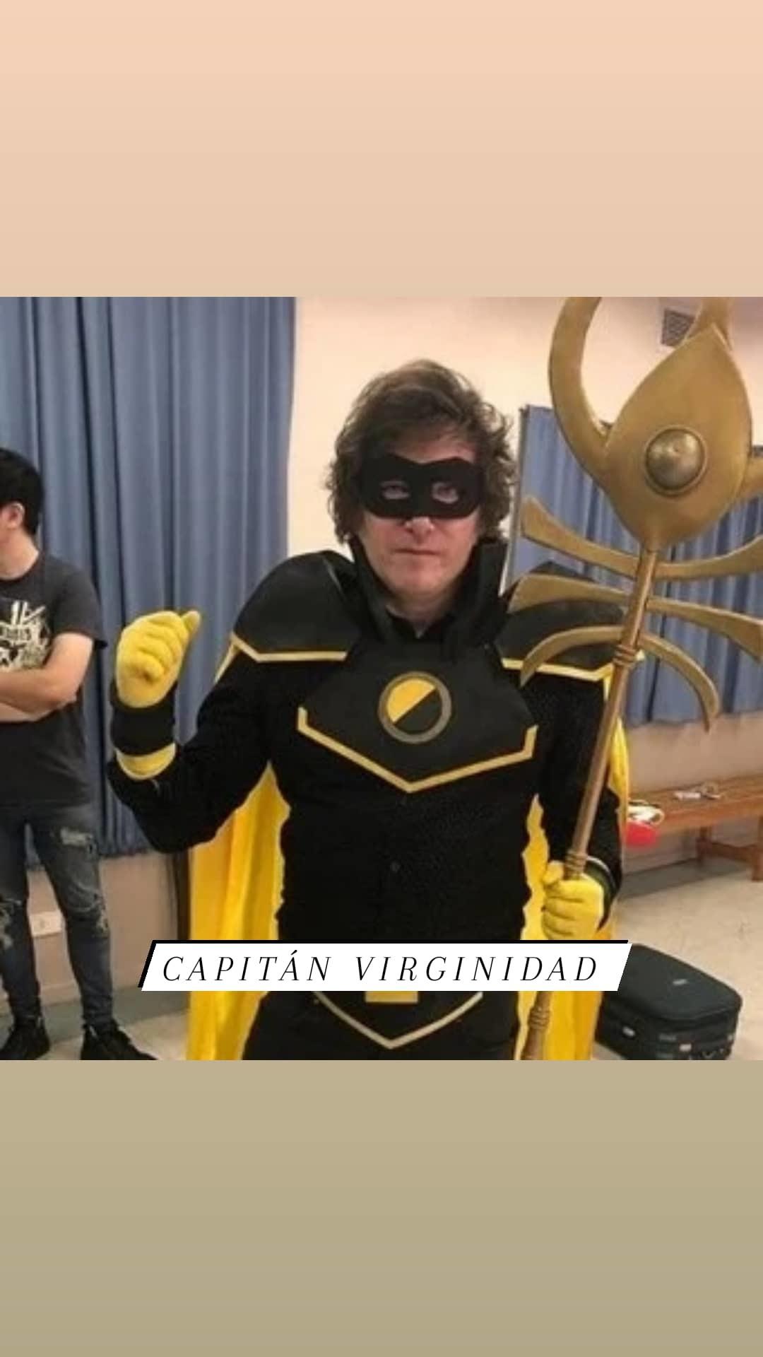 Capitán virginidad - meme