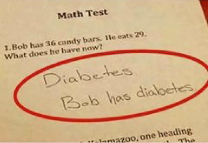 Math in a nutshell - meme