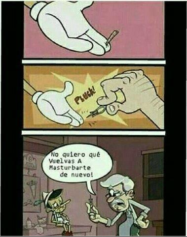 Ese Pinocho es un Loquillo - meme
