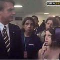 """""""Ninfeta safada fica molhada com o futuro presidente do Brasil."""""""