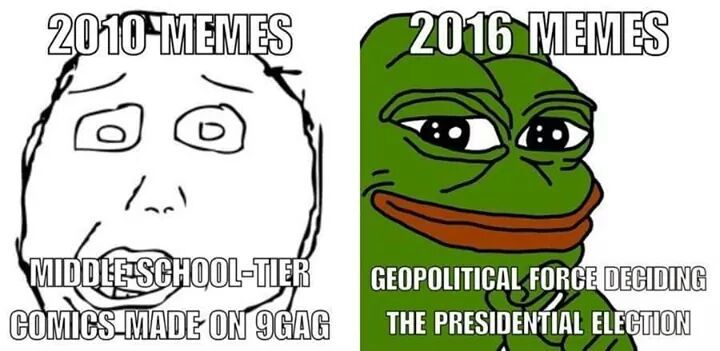 Rest in peace my sweet 2010 memes. I miss the times