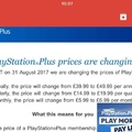 PlayStation Plus Price Increase...