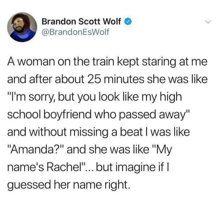 Amanda? - meme