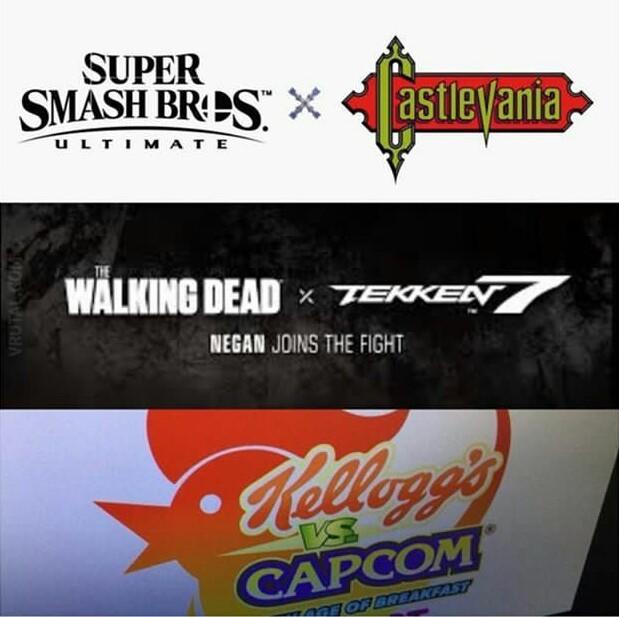 Que crossovers se vienen - meme