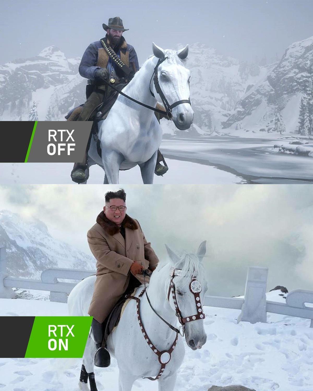 Red Dead Redemption 2 sur PC est trop beau - meme