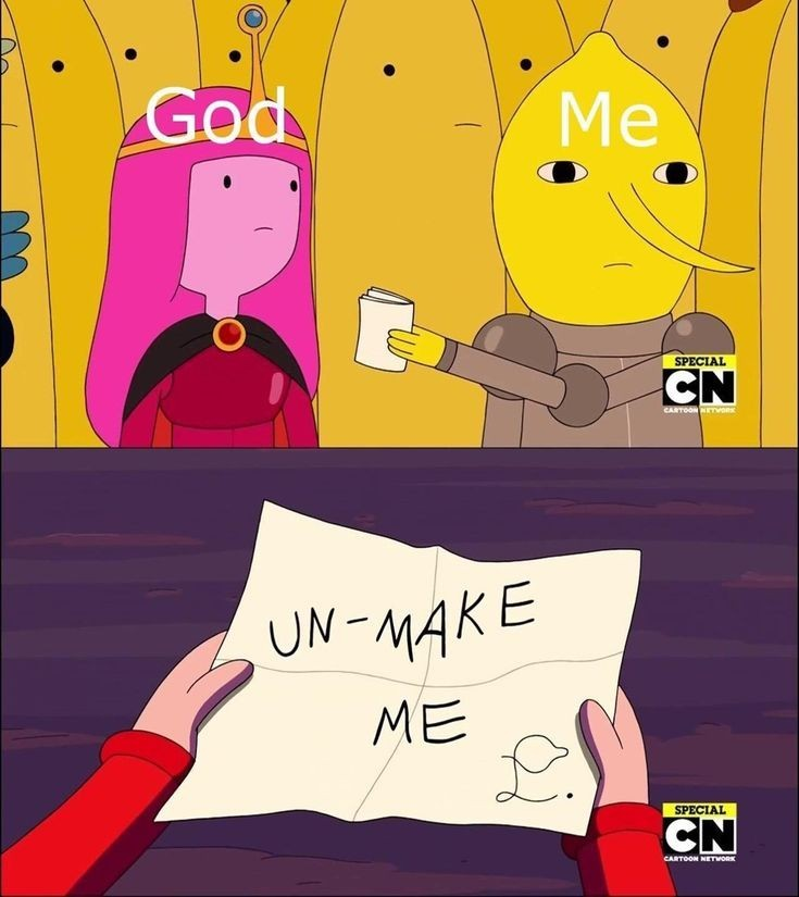 Adventure time - meme