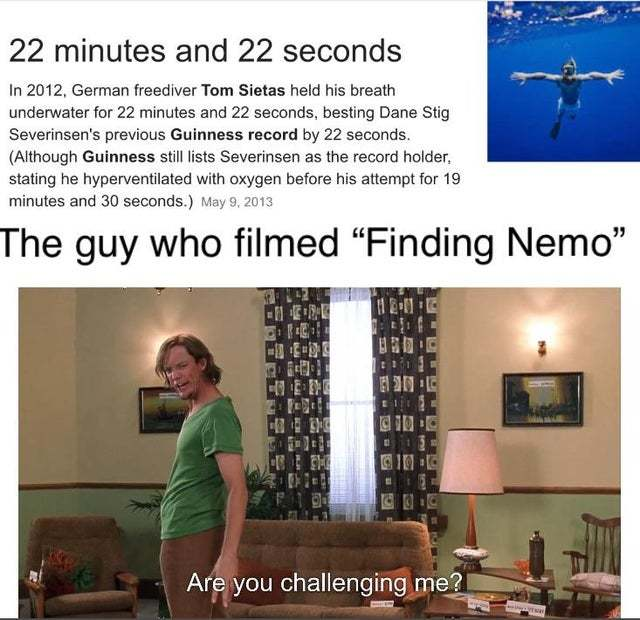 22 minutes and 22 seconds - meme