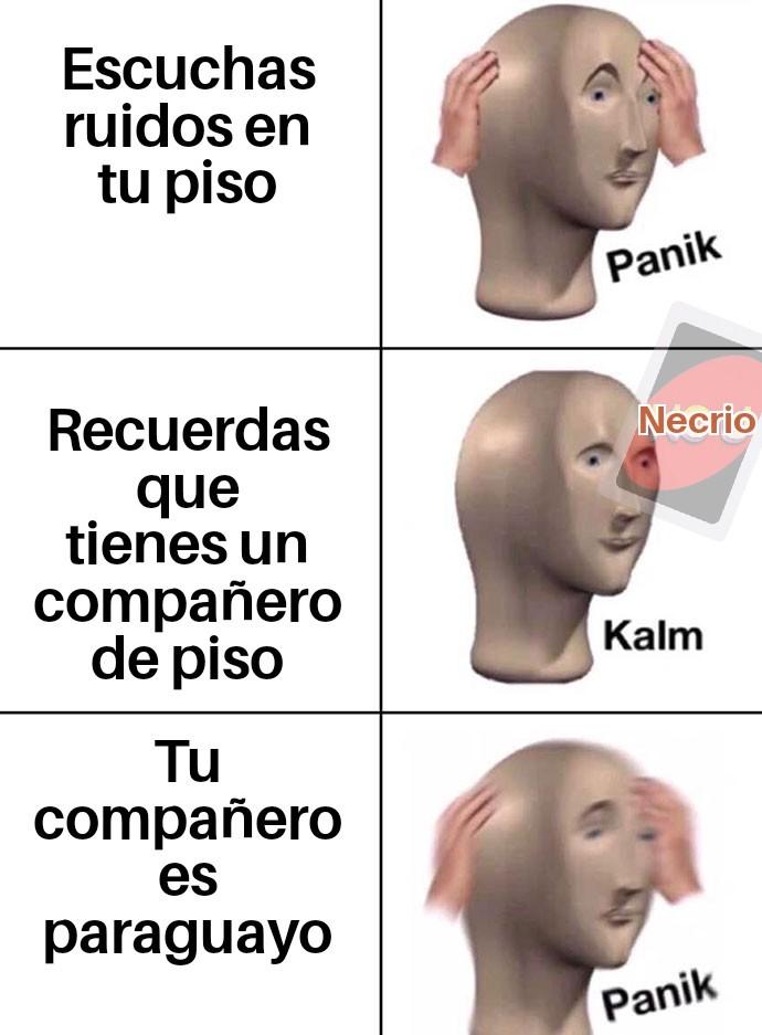 Jaja paraguayos rianse - meme