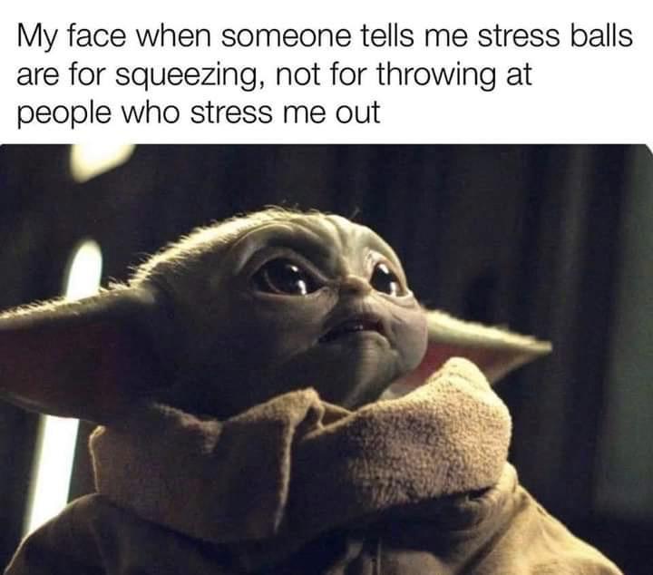 I love Bebe Yoda - meme