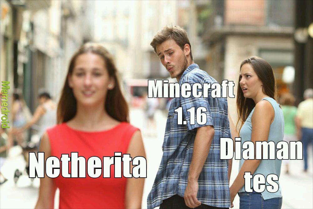 Netherita - meme