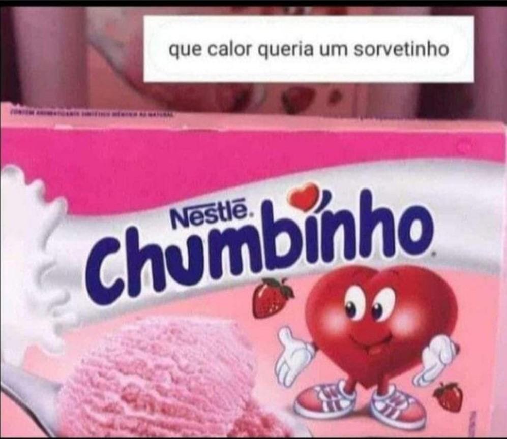 Chumbinho - meme