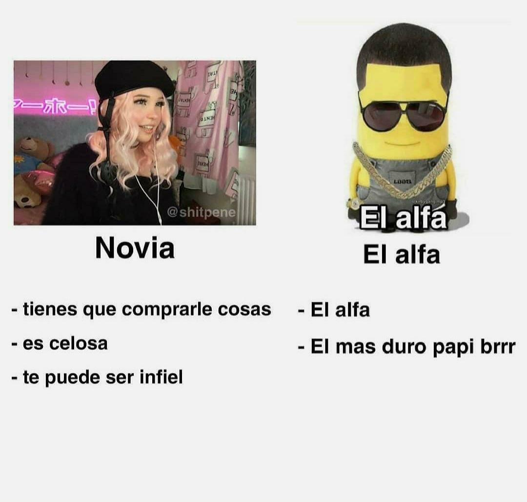 El alfa - meme