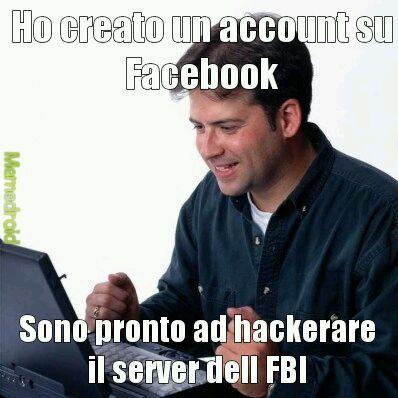 Hacker provetto - meme