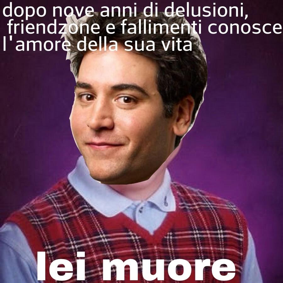 Poor ted :'( - meme