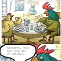 Lol a rooster ;)