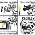 Albert Einstein is a myth